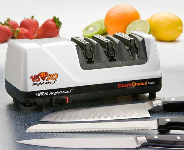 1520 lifestyle2 600x491 - Электрическая точилка для японских и европейских ножей Chef'sChoice 1520