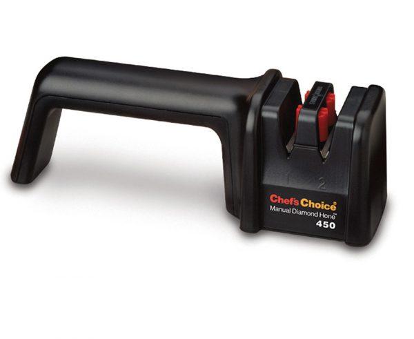 450 600x491 - Механическая точилка для ножей Chef'sChoice 450