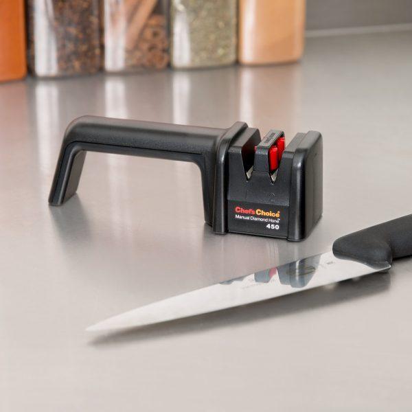450 2 1 600x600 - Механическая точилка для ножей Chef'sChoice 450