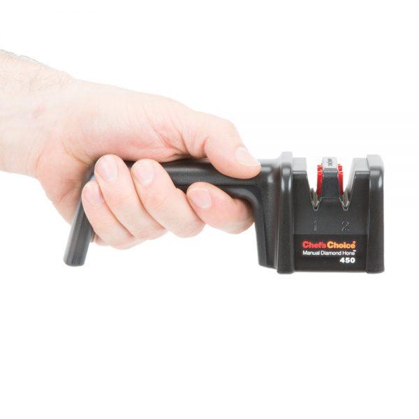 450 3 1 600x600 - Механическая точилка для ножей Chef'sChoice 450