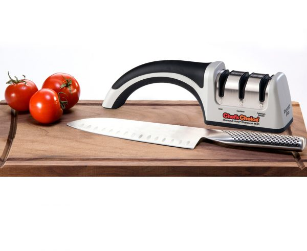 4643 lifestyle3 600x491 - Механическая точилка для японских, европейских и серрейторный ножей Chef'sChoice 4643