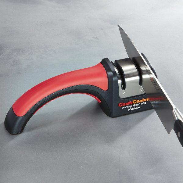 chefschoice pronto diamond hone for santoku 15 knives model 463 1 600x600 - Механическая точилка для японских ножей Chef'sChoice 463